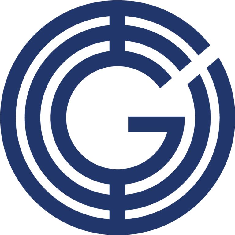 Geeq Typeface Dark Blue